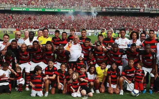 Em 2009, o Flamengo conquistou o hexacampeonato do Brasileirão