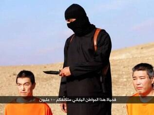 Refém japonês é decapitado por grupo