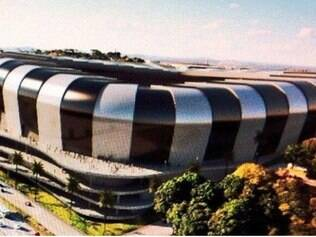 Imagens do projeto novo estádio do Atlético teriam vazado