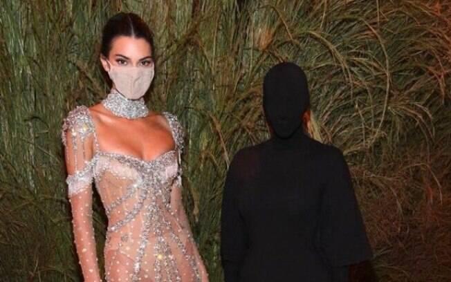 Kendall e Kim no Met Gala