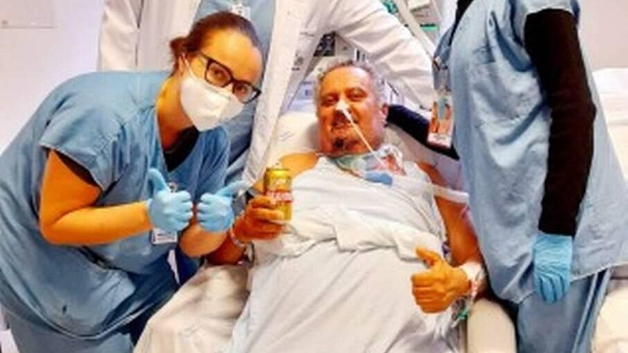 Paciente foi autorizado pela equipe médica a tomar cerveja sem álcool