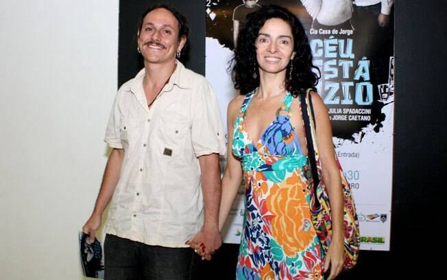 Cláudia Ohana com o namorado, Yussef Kalume