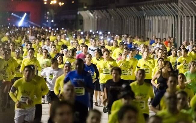 Night Run aconteceu no último sábado, em São  Paulo