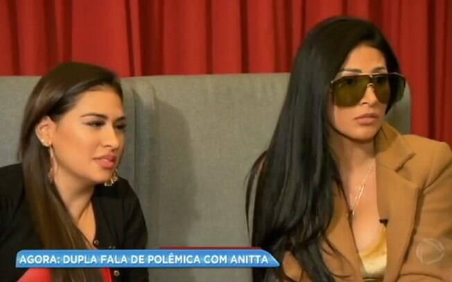 Anitta não aceitou conselho, diz Simaria sobre polêmica com cantora