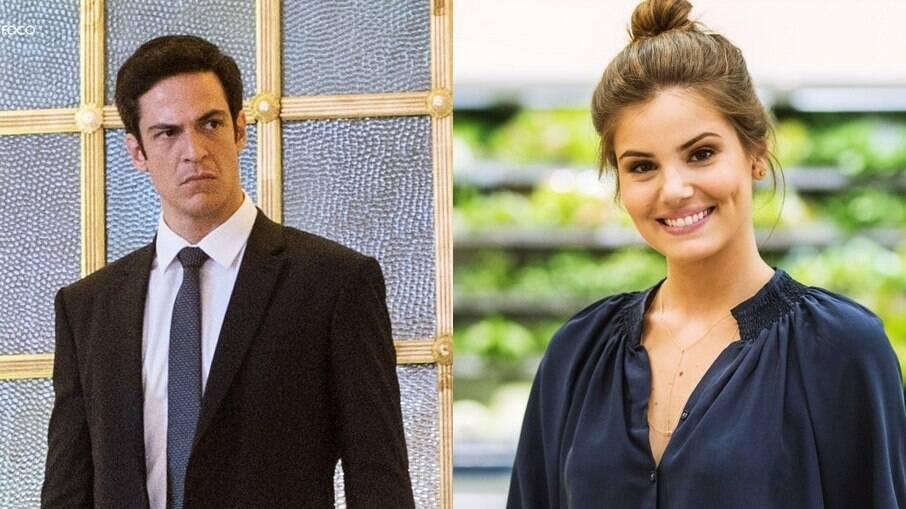 Camila Queiroz e Mateus Solano fazem par romântico de Pega Pega
