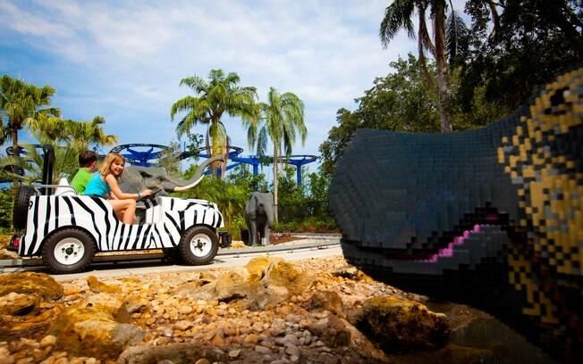 Inaugurado em outubro de 2011, o Legoland é uma nova opção de parque temático para quem vai à Flórida
