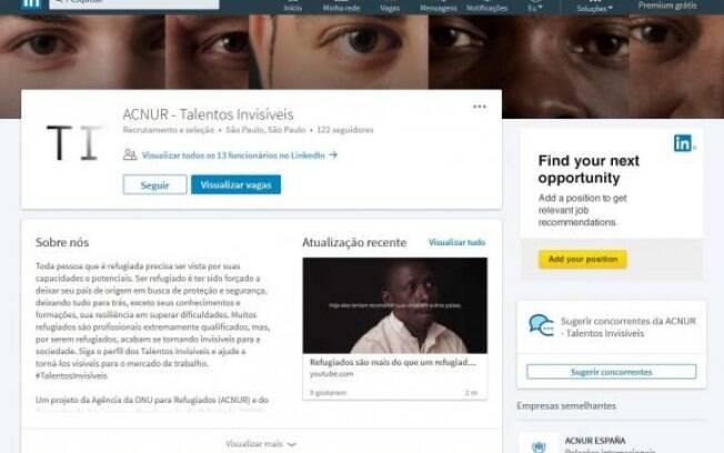 A campanha Talentos Invisíveis, da Agência das Nações Unidas para Refugiados (Acnur) e do Programa de Apoio para a Recolocação do Refugiado (Parr), busca dar visibilidade a essas trajetórias