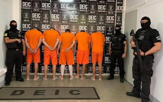 Seis membros da quadrilha foram presos em três estados