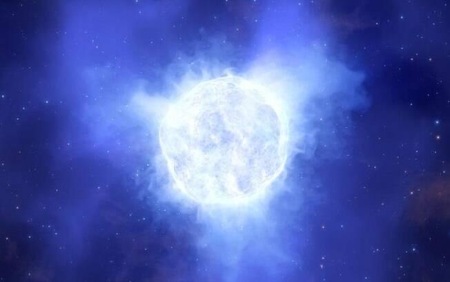 Astro estava no final de sua vida e era observado por cientistas.