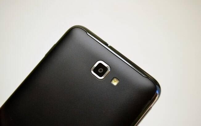 Câmera do Galaxy Note tem flash do tipo LED