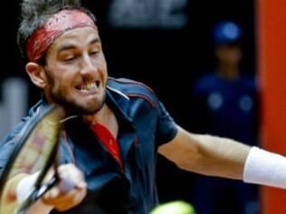 Luca Vanni, número 149 do mundo, vai encarar na final o vencedor do confronto entre o colombiano Santiago Giraldo e o uruguaio Pablo Cuevas