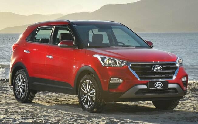 Hyundai Creta 1.6 Plus: bem que poderia ter linhas mais arrojadas, mas o conjunto do SUV compacto está bem acertado