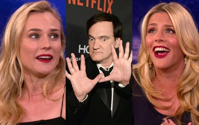 Busy Phillips detona Quentin Tarantino no Twitter e Diane Kruger revela ter tido experiência positiva com o diretor