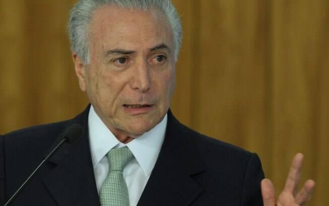 Michel Temer, passou o domingo (19) em sua casa, em São Paulo, ao lado da família