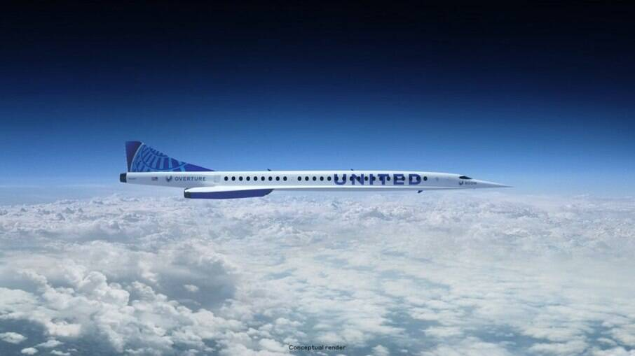 United Airlines anuncia compra de 15 aeronaves supersônicas