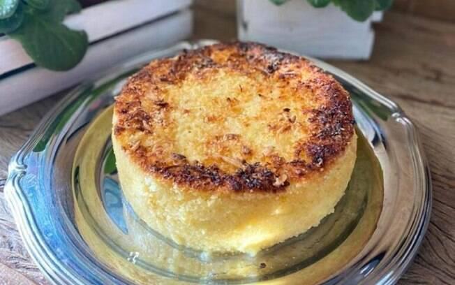 Bombocado queijadinha