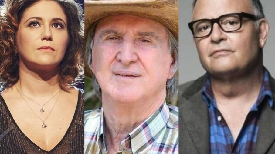 Maria Rita, Sérgio Reis e Guilherme Arantes