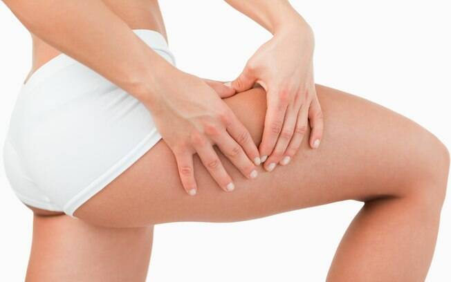 O tratamento da celulite dá melhores resultados quando acompanhado de dieta equilibrada
