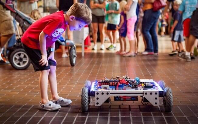 Foto da Maker Faire em Nova York