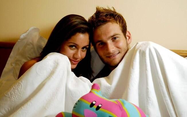 Maria Melilo e Wesley terminam namoro