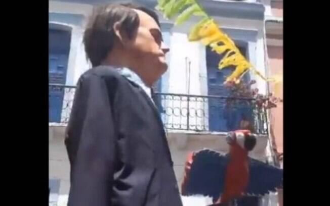 Boneco de Bolsonaro no Carnaval de Olinda