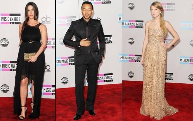 Alanis Morissette, John Legend e Taylor Swift