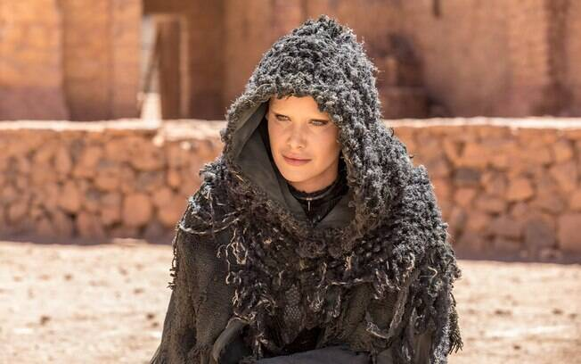 Mayana Moura interpreta Satanás na novela