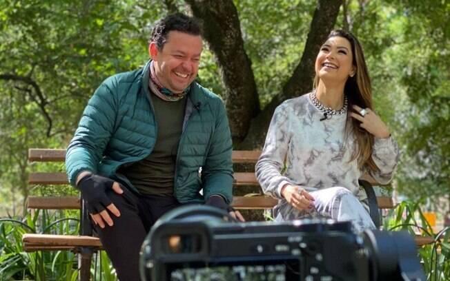 Amanda Françozo e Fernando Rocha