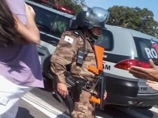 Polícia Militar de Minas Gerais agiu de forma desnecessária durante chegada do ônibus da Argentina