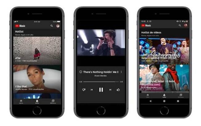 YouTube Music tem conteúdo exclusivo que já está disponível no serviço de vídeos on-line