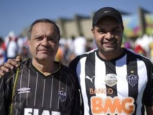 Atleticanos e cruzeirenses estão unidos no apoio à equipe caribenha