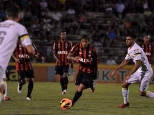 Atlético perdeu para o Santos e ficou apenas na terceira colocação