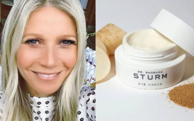 Gwyneth Paltrow e Dr Barbara Sturm Eye Cream