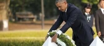 """Memória do bombardeio """"nunca deve se apagar"""", diz Barack Obama"""