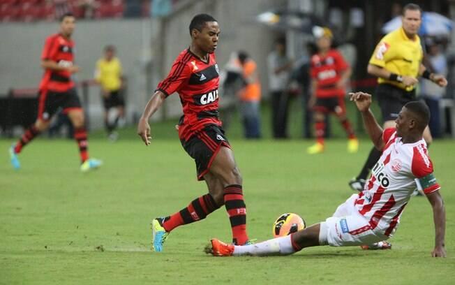 Elias, volante do Flamengo