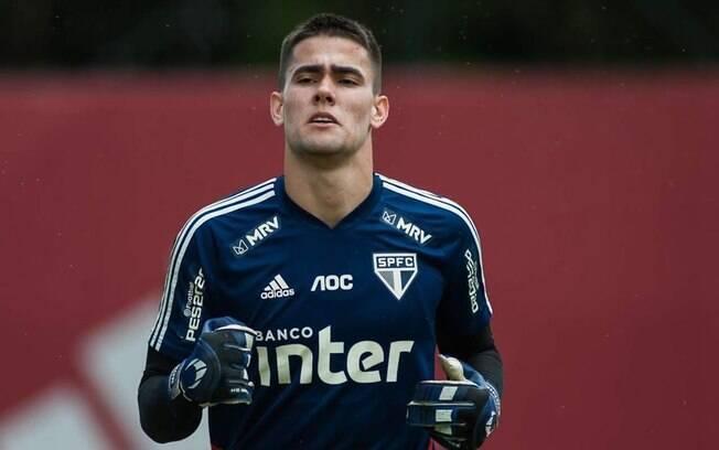 Denis Júnior, goleiro do São Paulo