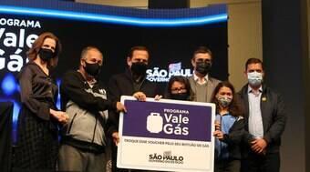 São Paulo anuncia Vale Gás, com três parcelas de R$ 100