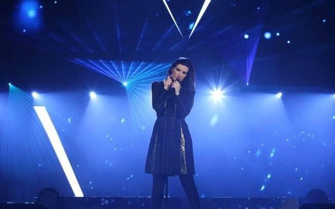 Laura Pausini, cantora italiana, marca presença no Brasil com oito shows