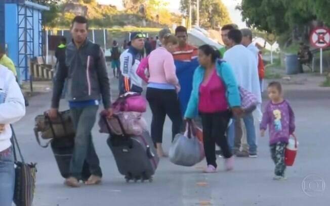 Imigrantes venezuelanos em Roraima