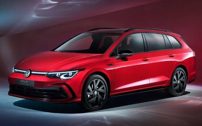 VW Golf Variant segue com o design que divide opiniões, mas que reflete o ganho de tecnologias