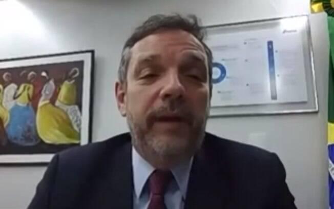 Caio Mário Paes de Andrade , secretário de Desburocratização, Gestão e Governo Digital do Ministério da Economia assinou carta aos servidores públicos
