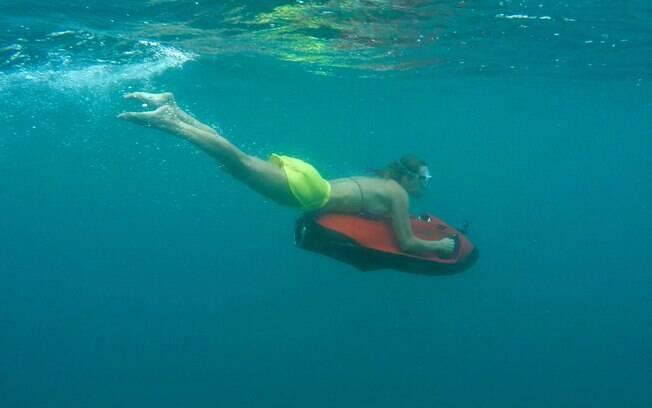 Seabob é uma experiência muito divertida nas Maldivas