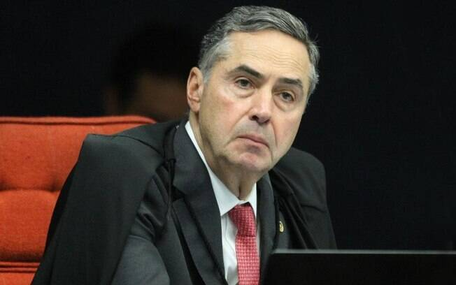 O presidente do TSE, ministro Luís Roberto Barroso, durante sessão da 1ª turma do STF (Superior Tribunal Federal)