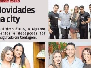 No último dia 6, a Algarve Eventos e Recepções foi inaugurada em Contagem.