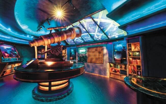As salas de scape room são uma exclusividade dos cruzeiros da Royal Caribbean e as salas são as mais modernas do mundo