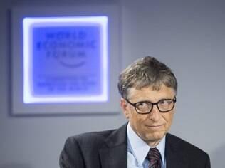 Bill Gates, de 58 anos, é o segundo homem mais rico do mundo segundo a revista Forbes