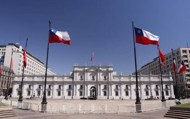 Edificio histórico da capital chilena Santiago