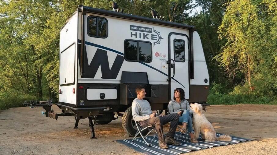 Winnebago Hike 100 é um trailer prático para quem quer mais praticidade sem deixar a comodidade de um veículo maior