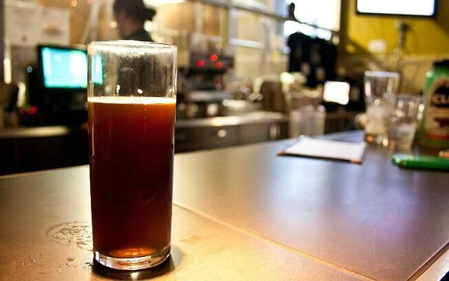 Dock Street Walker, produzida por uma cervejaria da Filadélfia, nos Estados Unidos