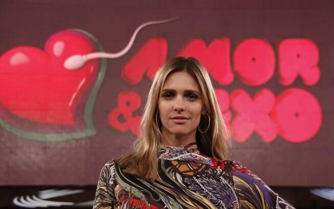 Fernanda Lima apresenta